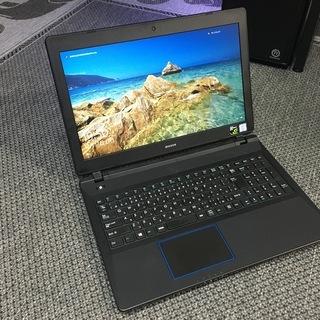 ゲーミングノートパソコン win10 i7 7500U GTX1...