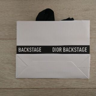 Dior Backstage空袋