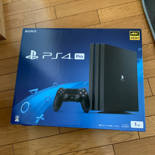 PlayStation 4 Pro ジェットブラック 1TB