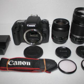 キャノン Canon EOS 8000D 標準&望遠ダブルレンズセット