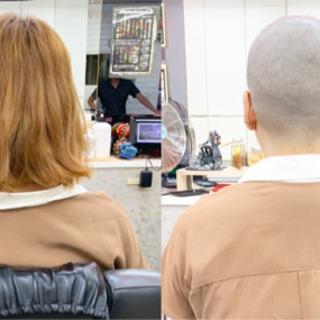 理容師様募集中 YouTube撮影にご協力して頂ける方 スキンヘッド、刈り上げ希望のモデル様がいます。の画像