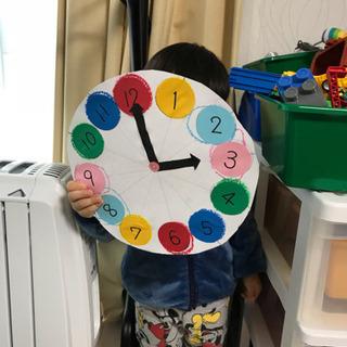 知育時計作りキット(手作り品]