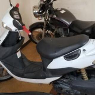 SUZUKI ZZ スズキの原付バイク 2スト最終型