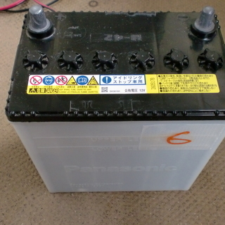 テスター計測済み M-42 アイドリングストップ車バッテリー 4...