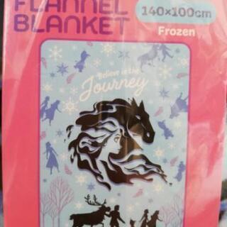 ☆未開封☆アナと雪の女王フランネル ブランケット