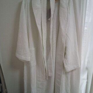 新品🍷真っ白バスローブ