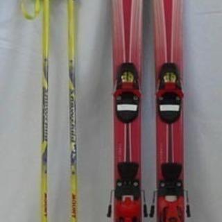 19Y0463 6S7 スキー Carve 130cm ビ…