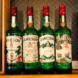注)空瓶です。JAMESON セントパトリックデー記念ボトル