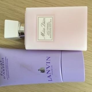 ランバン PRADA 香水 クリーム2点セット