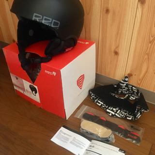 スノボ ヘルメット RED by Burton 黒 Lサイズ