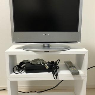 SONY 液晶テレビ KDL-S19A10 19インチ (テレビ台付き