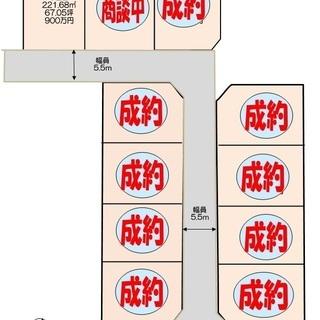 熊谷市樋春第三期分譲地 5区画 900万円