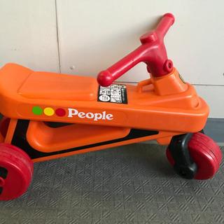 Peopleの室内二輪と外遊びの二輪乗り物 二台一緒に引き取って...