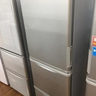 1年保証 SHARP 3ドア冷蔵庫入荷