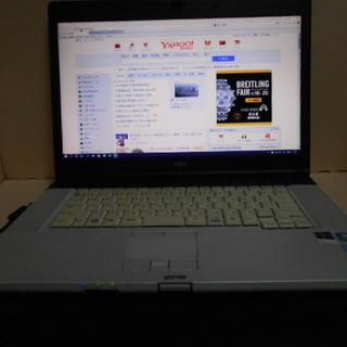 お取引中 FujiTsu 中古ノートPC SSD128GBに交換済