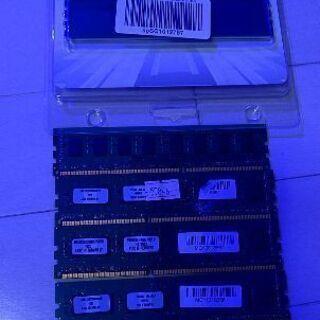 PC デスクトップ用メモリ PC3 2G×6枚