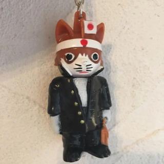 【レア】なめ猫 ソフビ キーホルダー