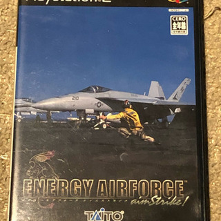 PS2ソフト ENARGY AIRFORCE