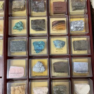 世界の鉱物コレクション 72個セット