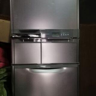 MITSUBISHI  MR-S40M-Tノンフロン冷蔵冷凍庫4...