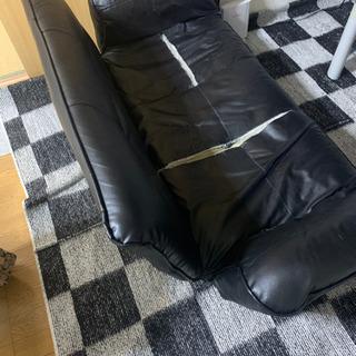 黒のソファ!