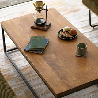 お洒落なコーヒーテーブル (RE:CENO WIRY)