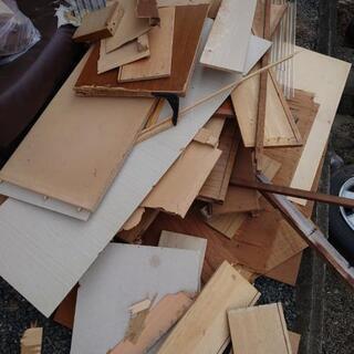 廃材 木材あげます
