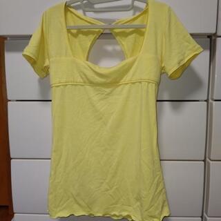 ギルフィー半袖。黄色