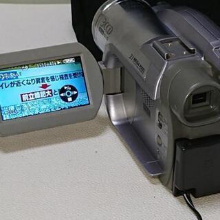3CCD DVDビデオカメラ