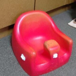 ベビー椅子☆赤☆中古品
