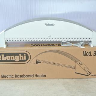 おしゃれなイタリア製 デロンギのベースボードヒーター (3~8畳...