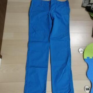 AZUL ブルー メンズパンツ