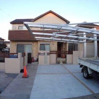 一般住宅ハウスメーカーの外構工事です❗