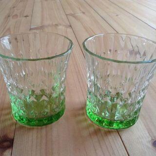 ガラスのペアグラス