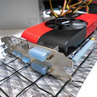 グラフィックボード MSI R6870 Storm II 1G ...