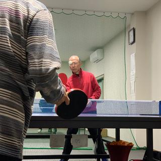 卓球練習場
