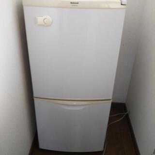 一人用 national冷蔵庫