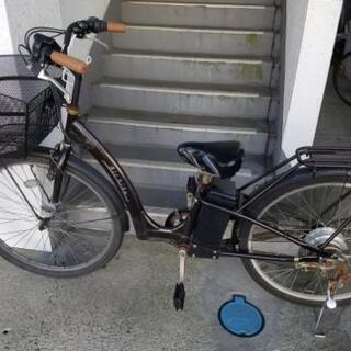 【鬼安】電動自転車 26インチ(多少難あり)