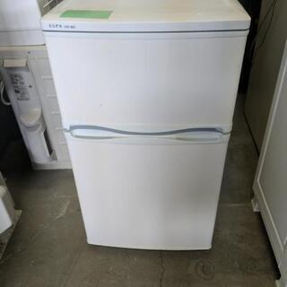 ユーパ ノンフロン冷蔵庫 型URR-88D 2009年88L