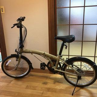 美品 折りたたみ自転車 おまけ付き!