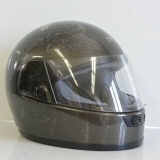 ジャンク品 フルフェイス ヘルメット 黒 ブラック E-303 ...