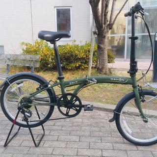 DAHON(ダホン)SUV D6 20インチ折りたたみ自転車