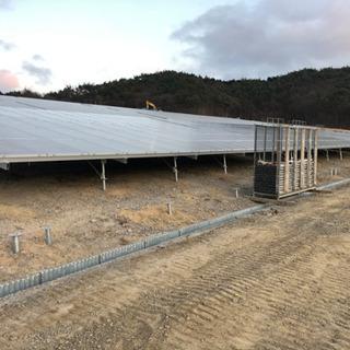 太陽光発電所(架台・パネル)設置