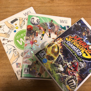 wii  ゲームソフト3点セット
