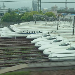 新幹線線路工事