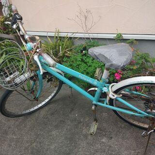 女の子 自転車 22型 三千円