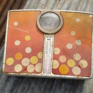 タニタ  レトロ 体重計