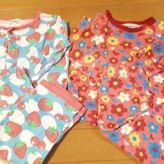 ☆可愛いパジャマ2点☆サイズ95㎝¥300!