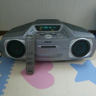 CD・MD・カセットテープ・ラジオ
