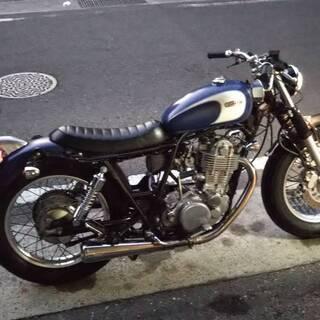 【カスタムバイク】SR400 2001年式 目を引くヨーロピアン...